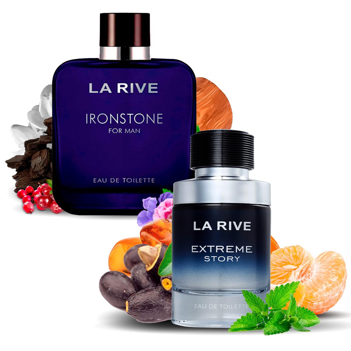 Kit 2 Perfumes Importados Extreme e Ironstone La Rive  - Mercari Perfumes