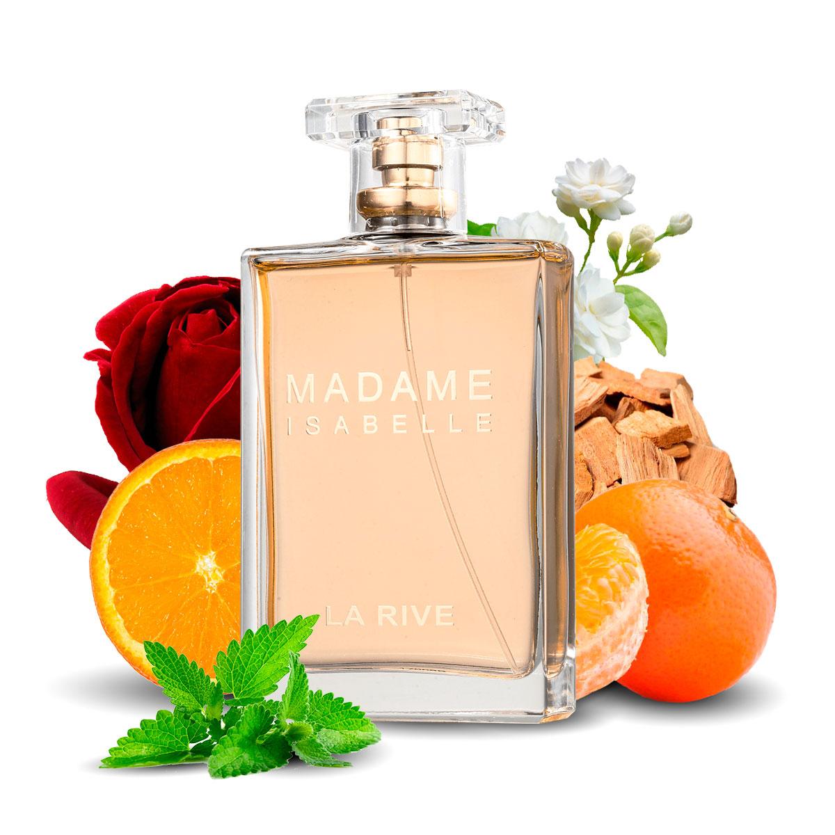 Kit 2 Perfumes Importados Extreme e Madame Isabelle La Rive