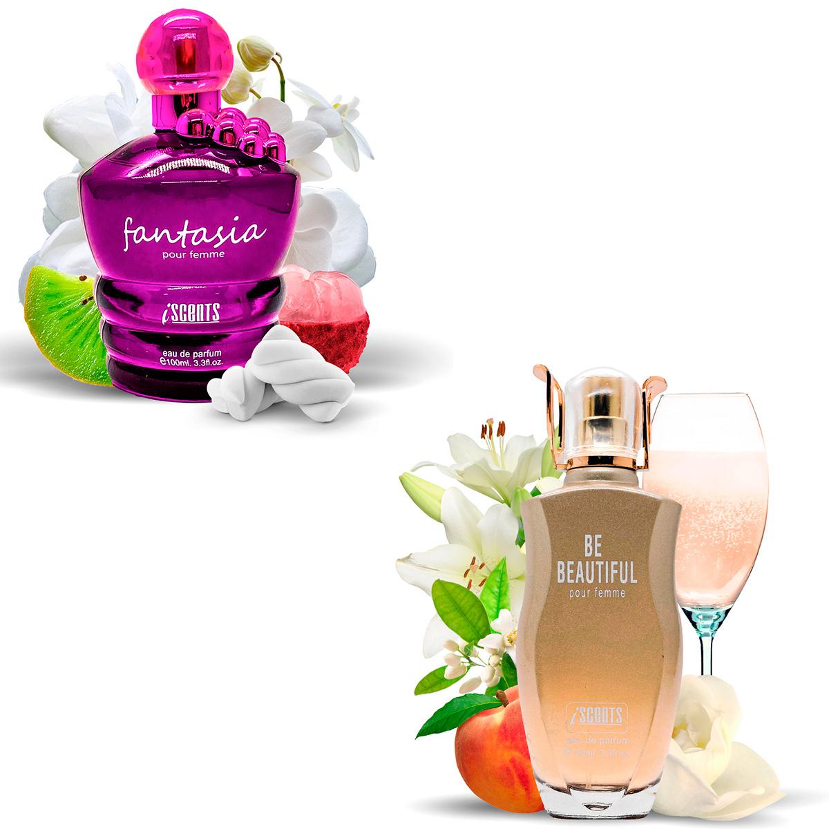 Kit 2 Perfumes Importados Fantasia e Be Beautiful I Scents  - Mercari Perfumes