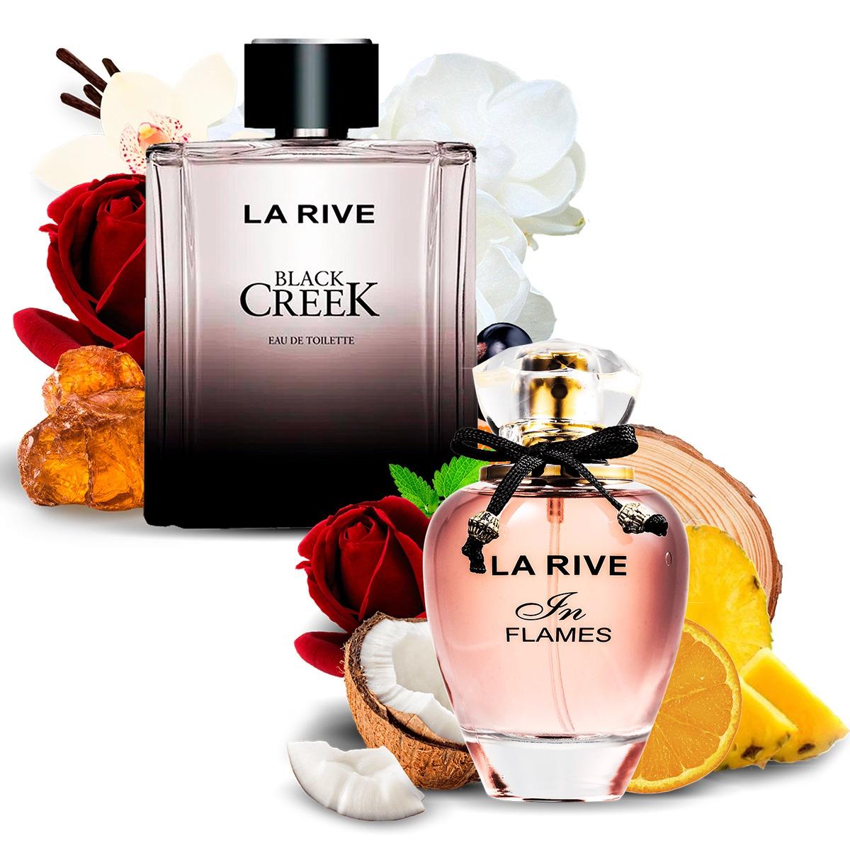 Kit 2 Perfumes Importados In Flames e Black Creek La Rive  - Mercari Perfumes