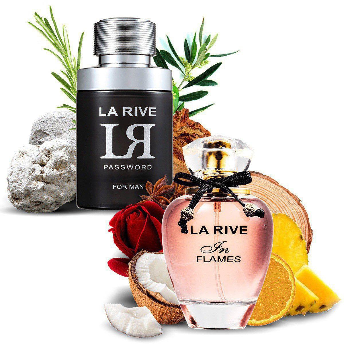 Kit 2 Perfumes Importados In Flames e LR Password La Rive  - Mercari Perfumes