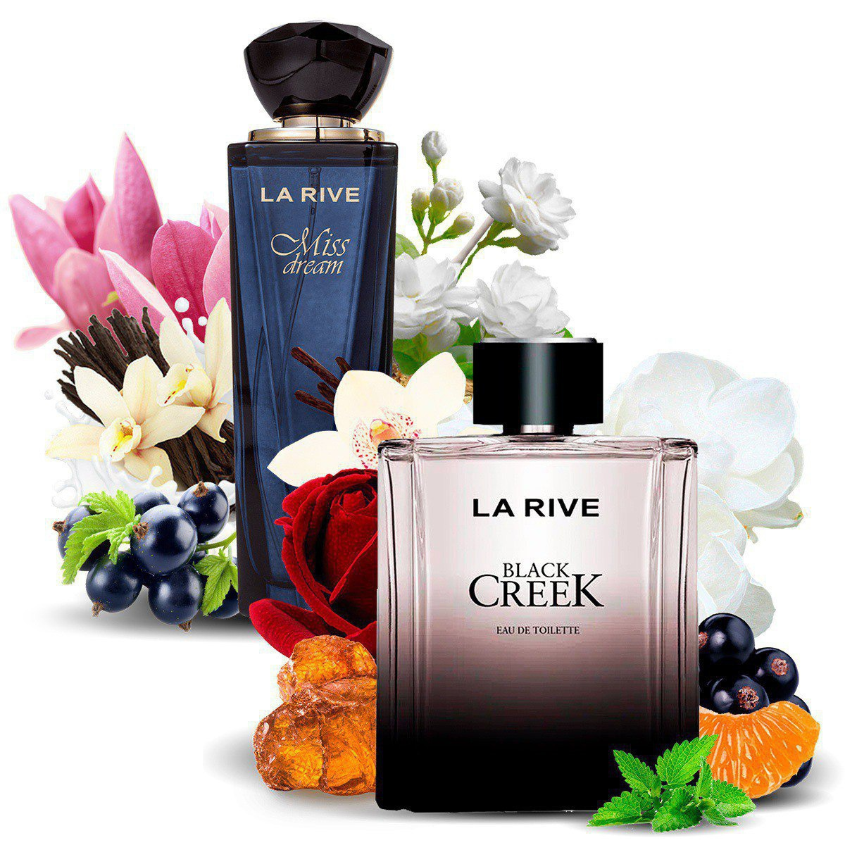 Kit 2 Perfumes Importados Miss Dream e Black Creek La Rive  - Mercari Perfumes