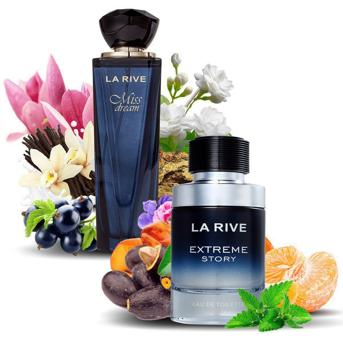 Kit 2 Perfumes Importados Miss Dream e Extreme La Rive