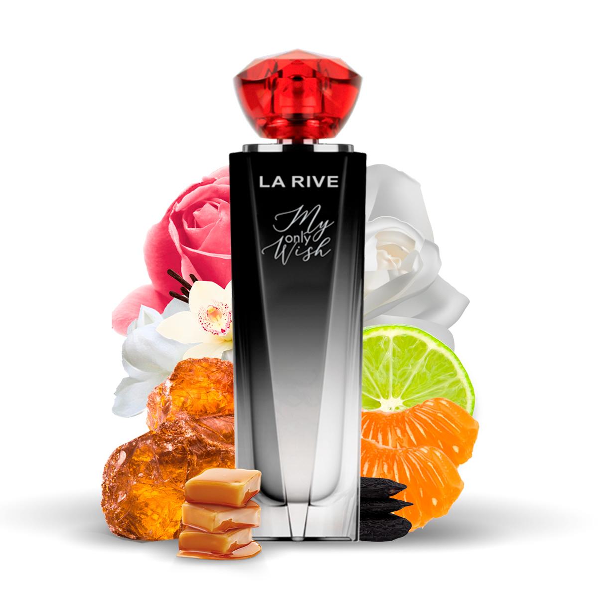 Kit 2 Perfumes Importados My Only Wish e Brave La Rive