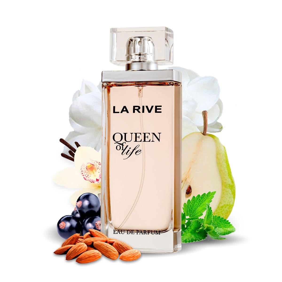 Kit 2 Perfumes Importados Queen of Life e Cuté La Rive