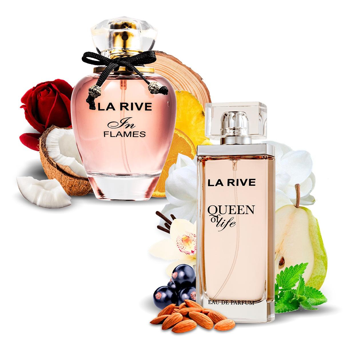 Kit 2 Perfumes Importados Queen of Life e In Flames La Rive  - Mercari Perfumes