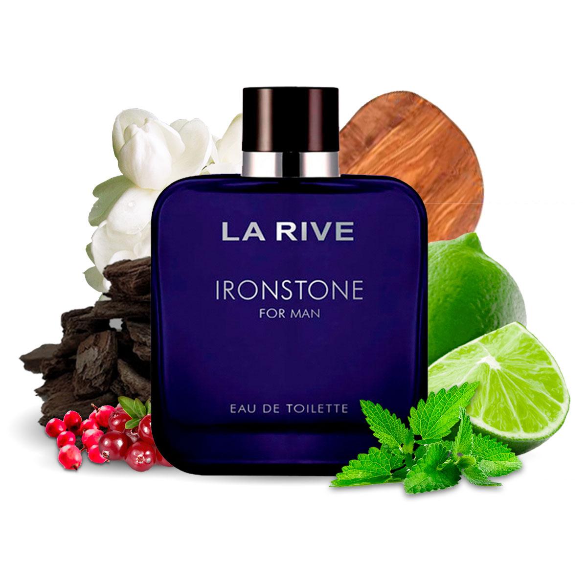 Kit 2 Perfumes Importados Steel Essence e Ironstone La Rive