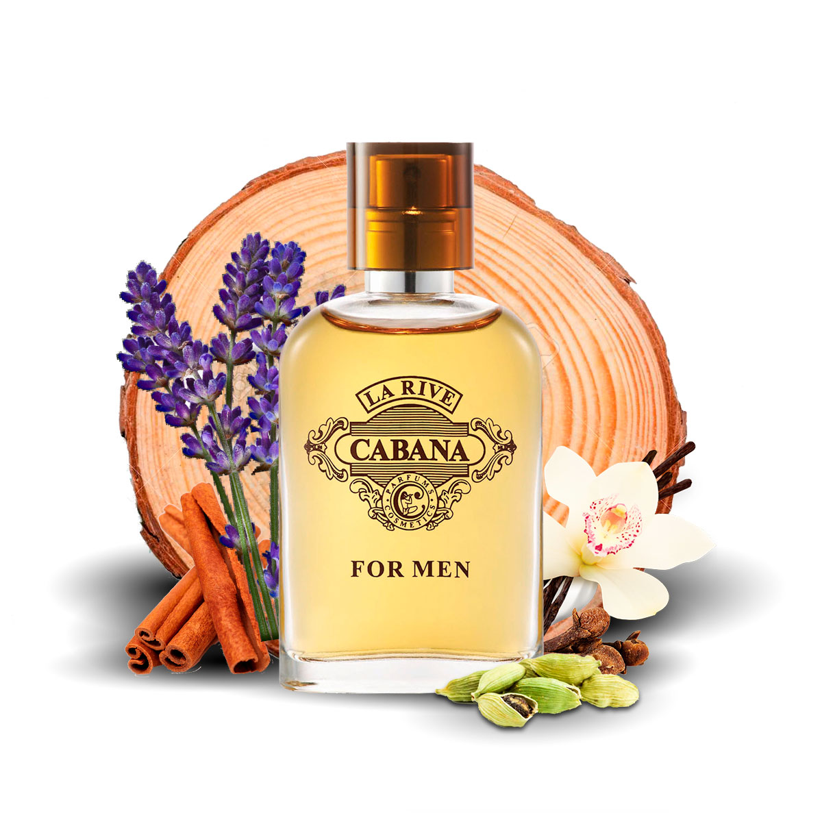Kit 2 Perfumes La Rive Brave e Cabana 30ml Masculino Edt