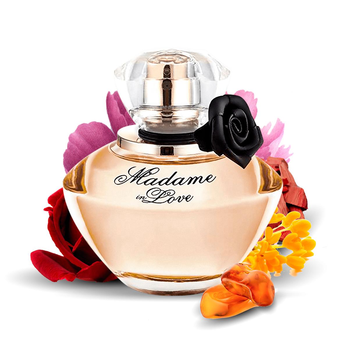 Kit 2  Perfumes La Rive Cash Woman + Madame In Love 90ml