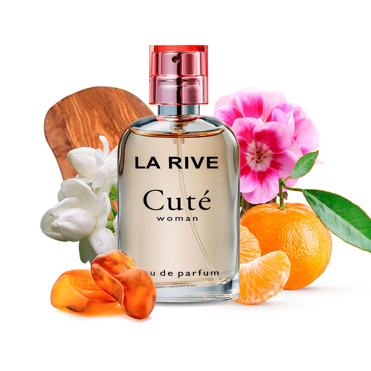 Kit 2 Perfumes La Rive Cute e Have Fun 30ml Feminino Edp