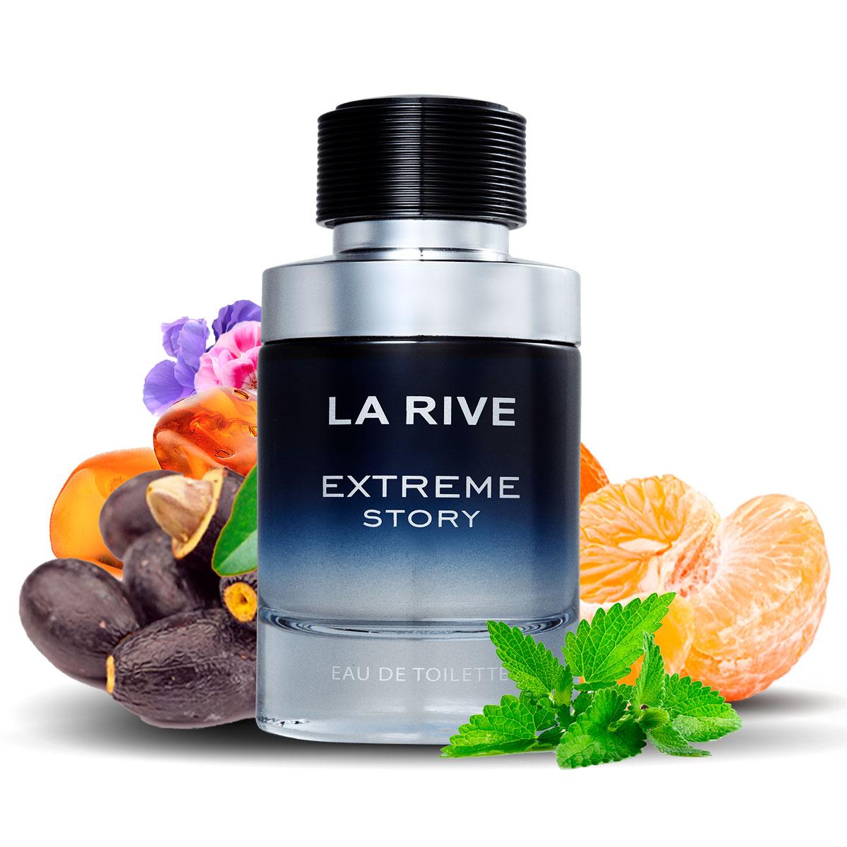 Kit 2 Perfumes La Rive Extreme Story 75ml + LR Password 75ml  - Mercari Perfumes