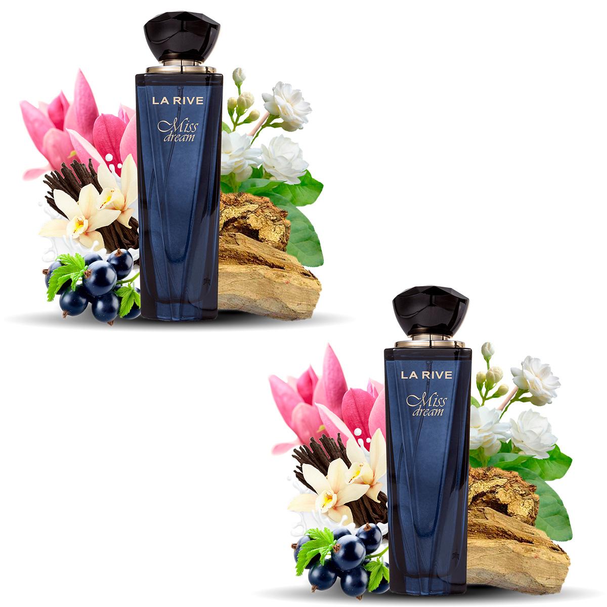 Kit 2 Perfumes Miss Dream La Rive 100ml Edp Feminino