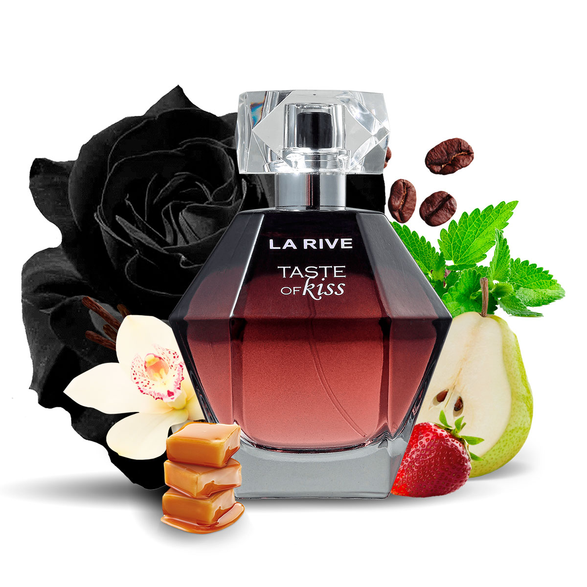 Kit 2 Perfumes Taste of Kiss e Eternal Kiss La Rive  - Mercari Perfumes