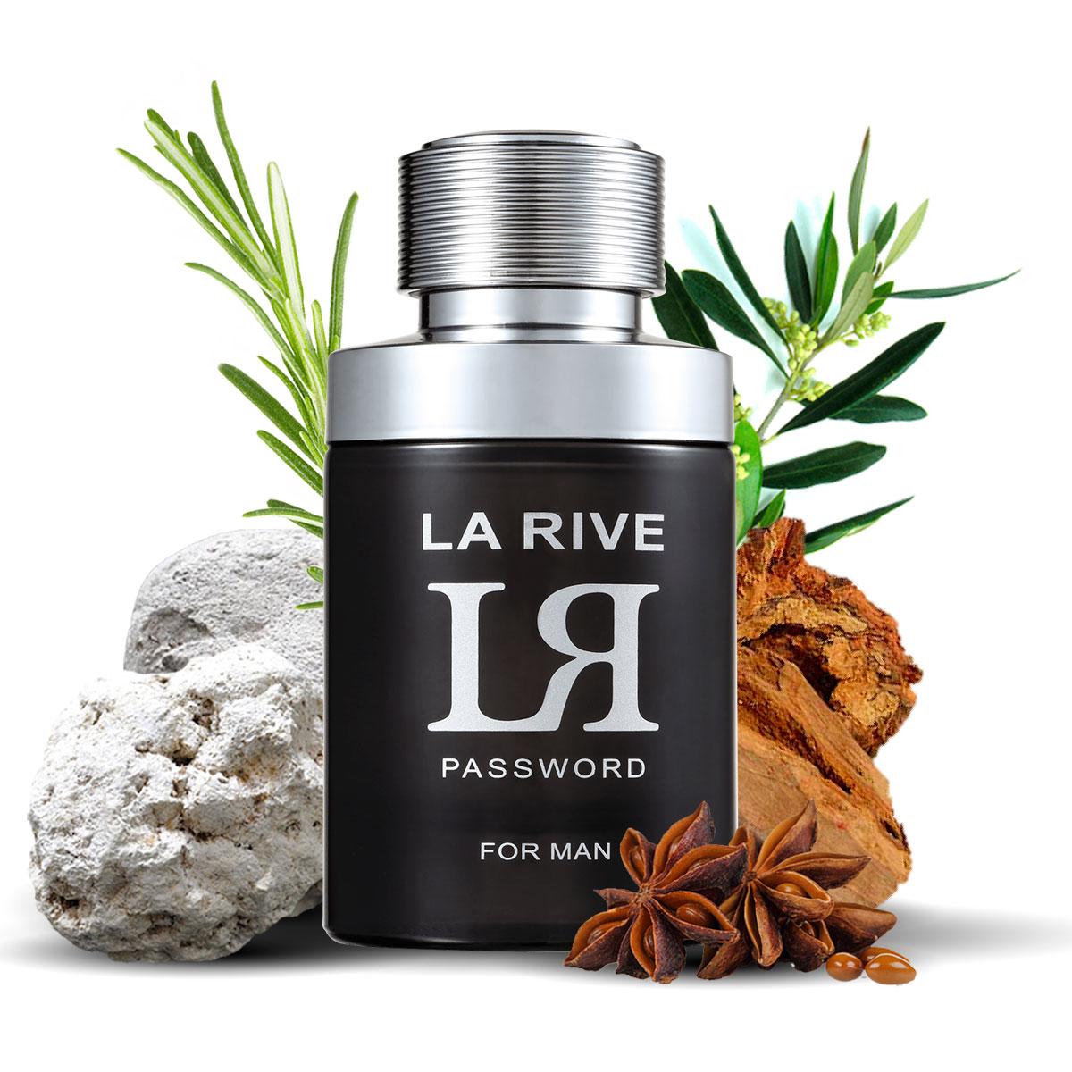 Kit 2 Perfumes, Touch of Woman e LR Password La Rive