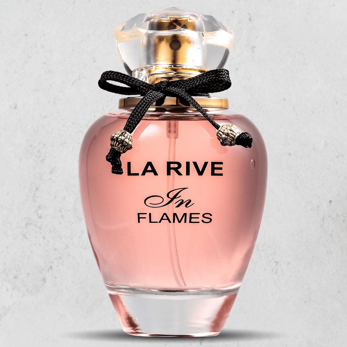 Kit 3 Perfumes Femininos La Rive In Flames edp  90ml