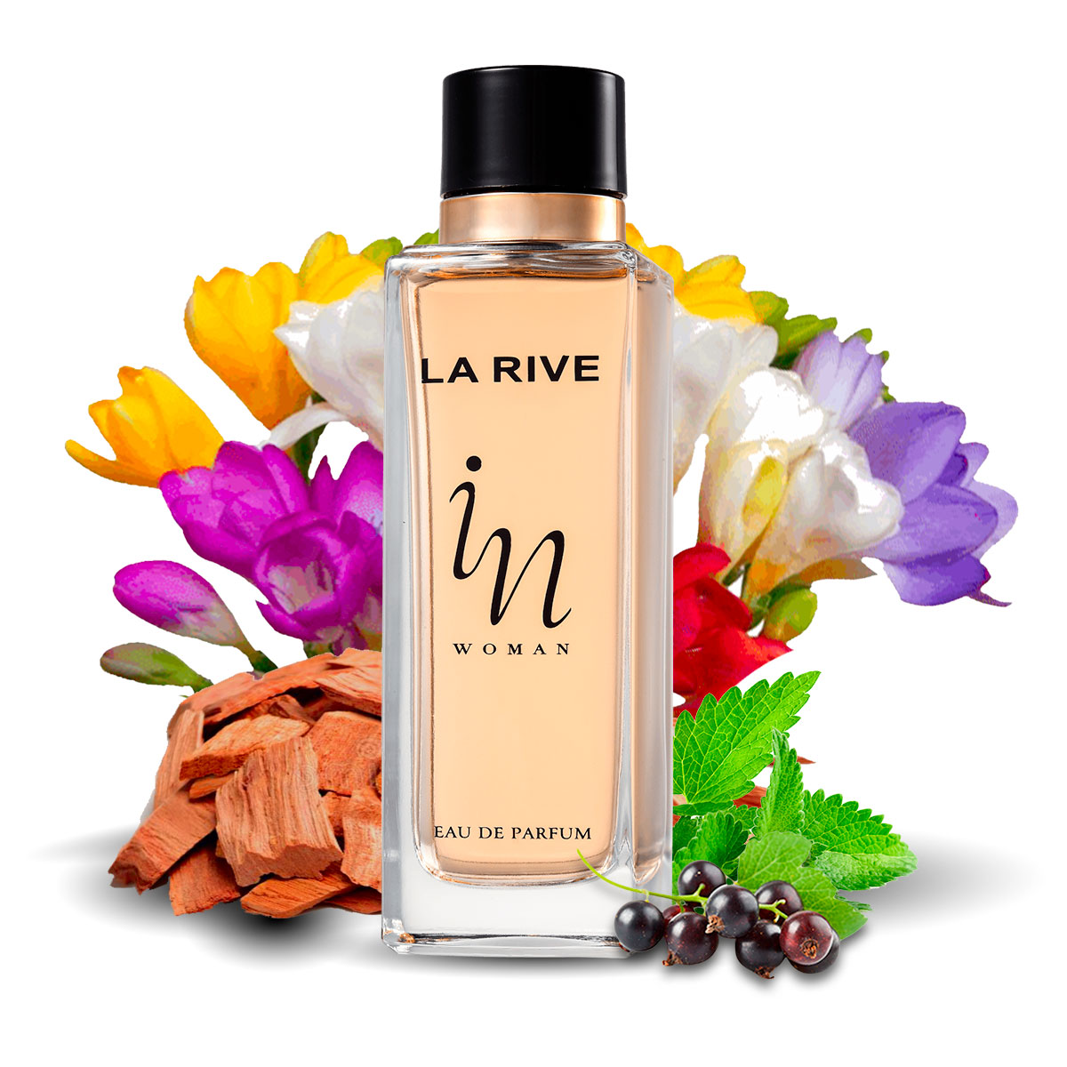 Kit 3 Perfumes Importados Femininos In Woman La Rive