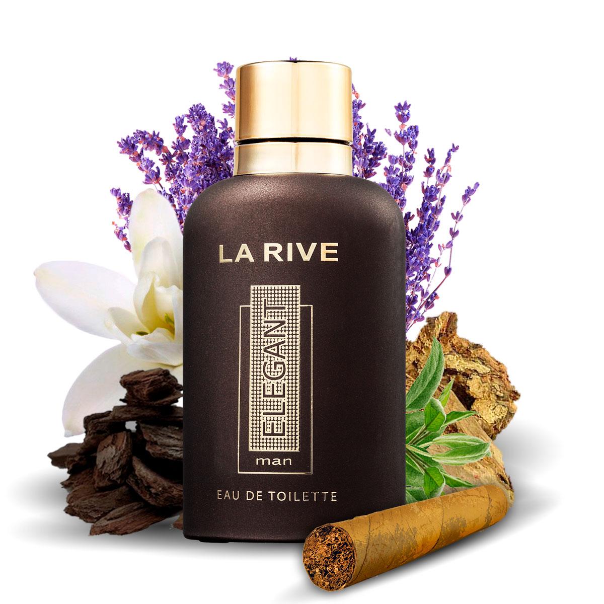Kit 3 Perfumes La Rive Elegant + Mens World + Cabana
