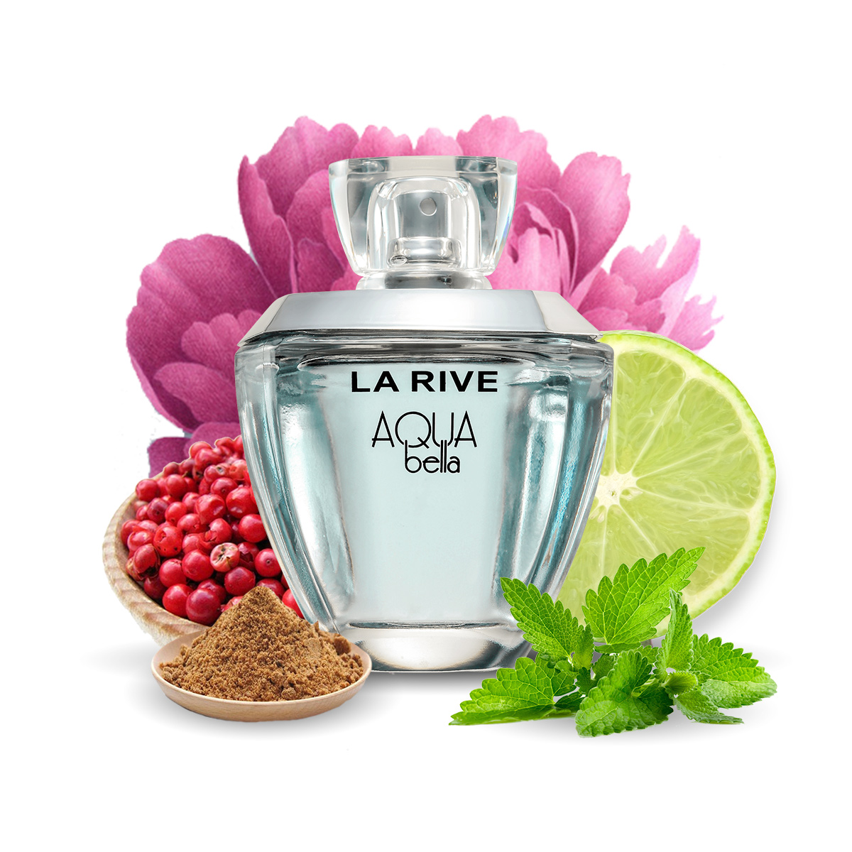 Kit 3 Perfumes Madame Isabelle + Aqua Bella + In Love