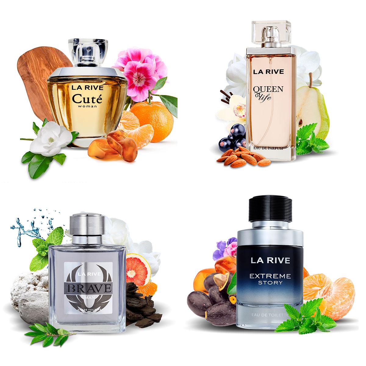 Kit 4 Perfumes Importados La Rive  Masculino e Feminino  - Mercari Perfumes