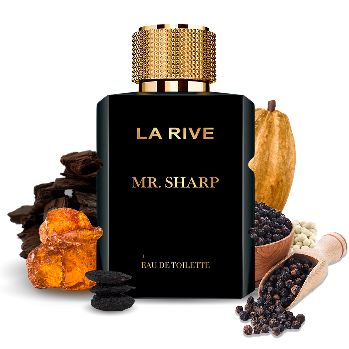 Kit 4 Perfumes Importados La Rive Masculino e Feminino