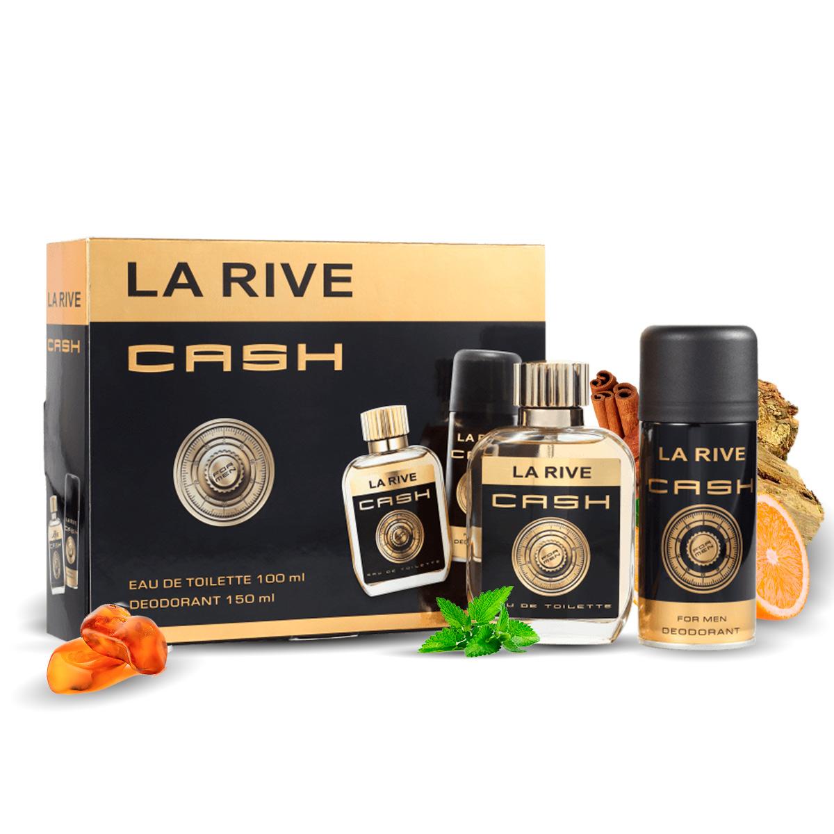 Kit Cash M 100ml + Desodorante 150ml La Rive