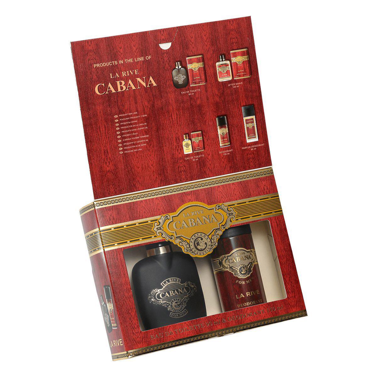 Kit Perfume Cabana 90ml + Desodorante 150ml La Rive