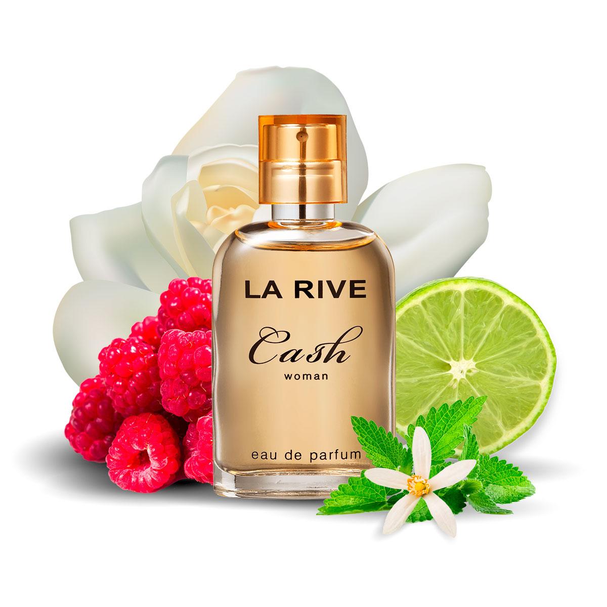 Kit  perfume Cash Woman 90ml + 30ml de Bolsa La Rive
