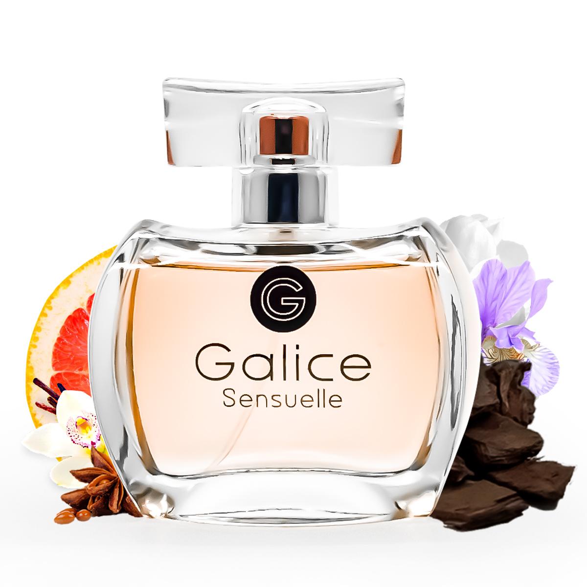 Kit Perfume Galice Sensuelle 100ml e desodorante Paris Bleu