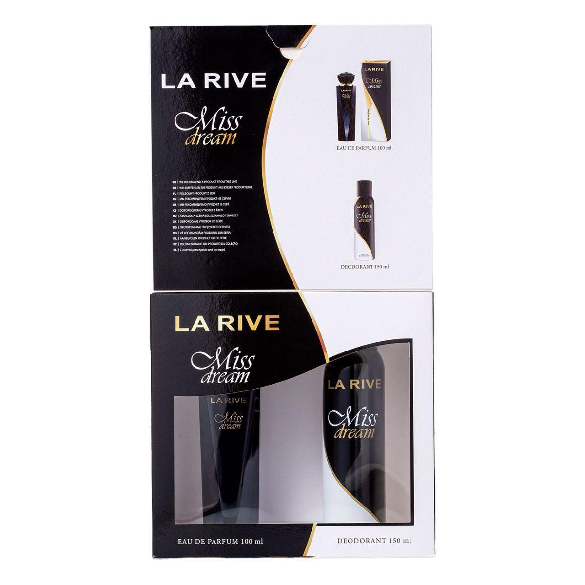 Kit Perfume Miss Dream F 100ml + Desodorante 150ml La Rive
