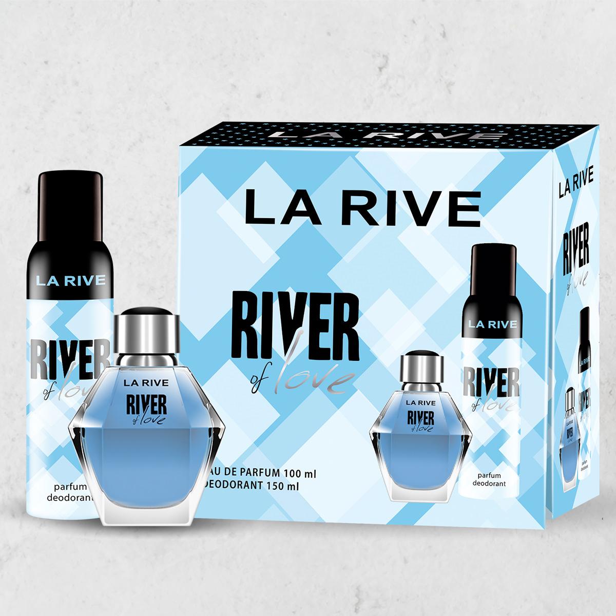 Kit Perfume River Of Love 100ml + Desodorante 150ml La Rive