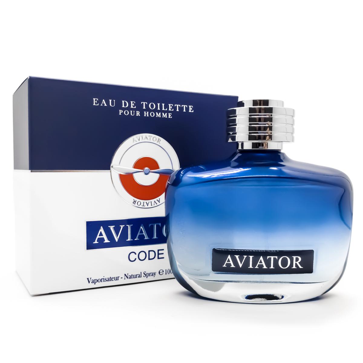 Perfume Aviator Code Masculino Edt 100ml Paris Bleu