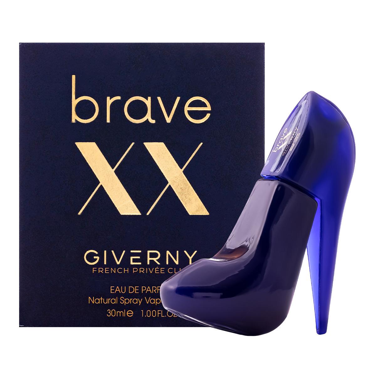Perfume Brave XX Sapatinho Feminino EDP 30ml Giverny  - Mercari Perfumes