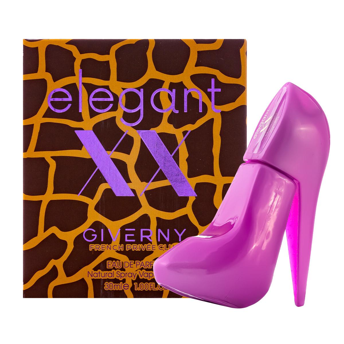 Perfume Elegant XX Sapatinho Feminino EDP 30ml Giverny  - Mercari Perfumes
