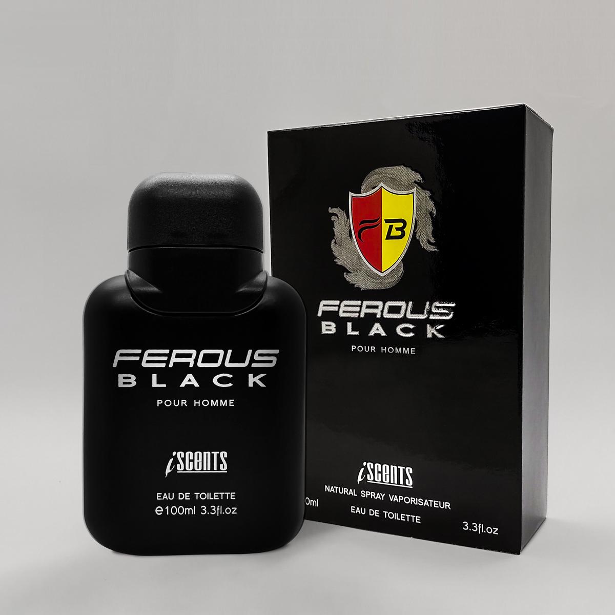 Perfume Ferous Black masculino edt 100 ml I Scents