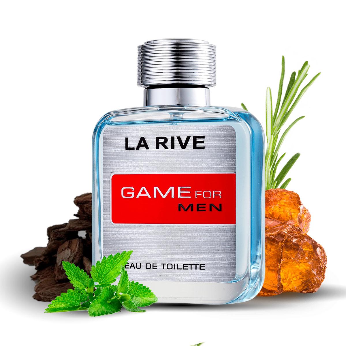Perfume Game For Man Masculino EDP 100ml La Rive