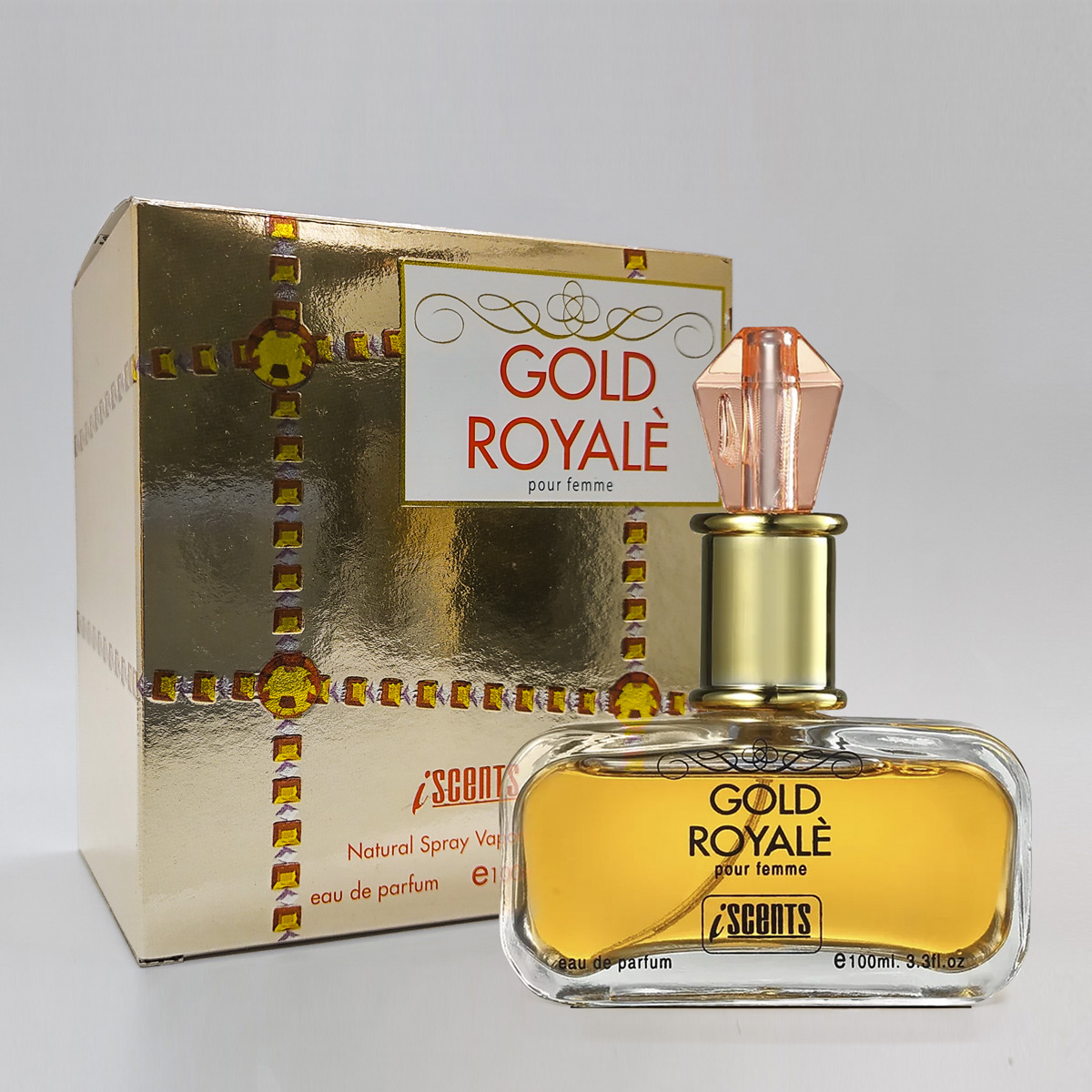 Perfume Gold Royale Feminino edp 100ml - I scents