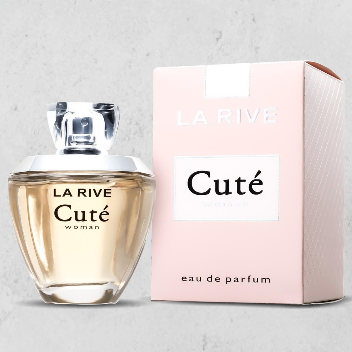 Perfume Importado Cute Feminino EDP 100ml La Rive