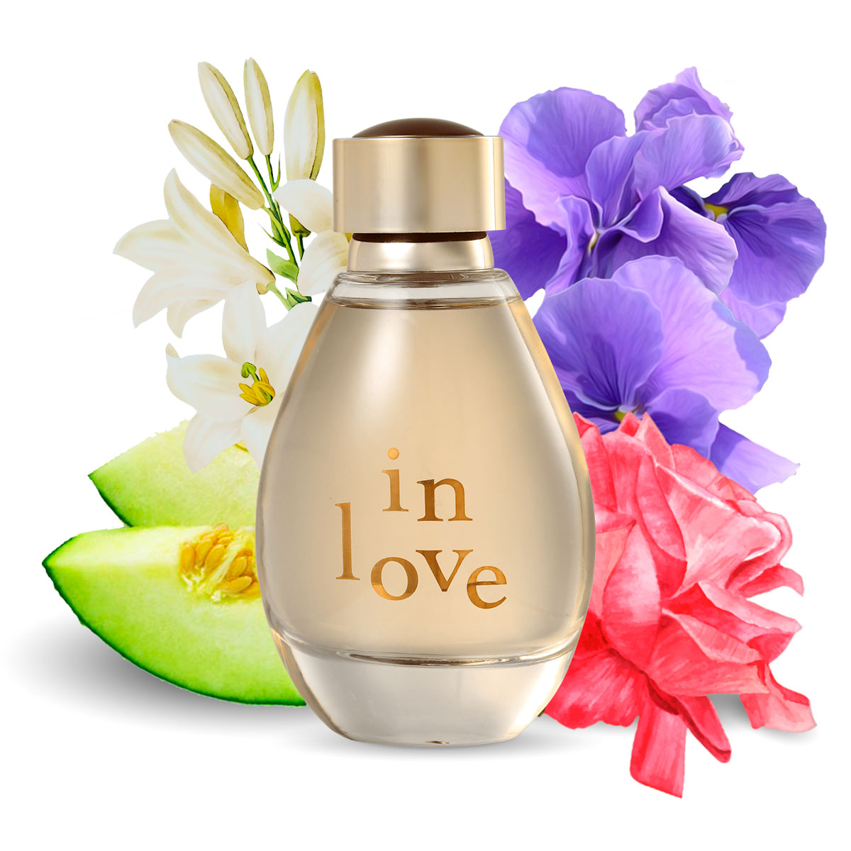 Perfume In Love Feminino Edp 90ml La Rive