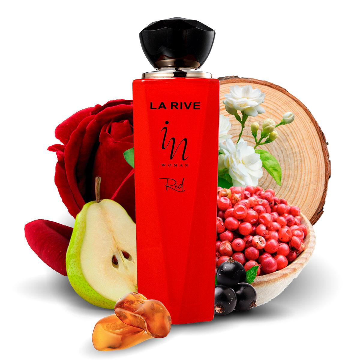 Perfume In Woman Red Feminino Edp 100ml La Rive