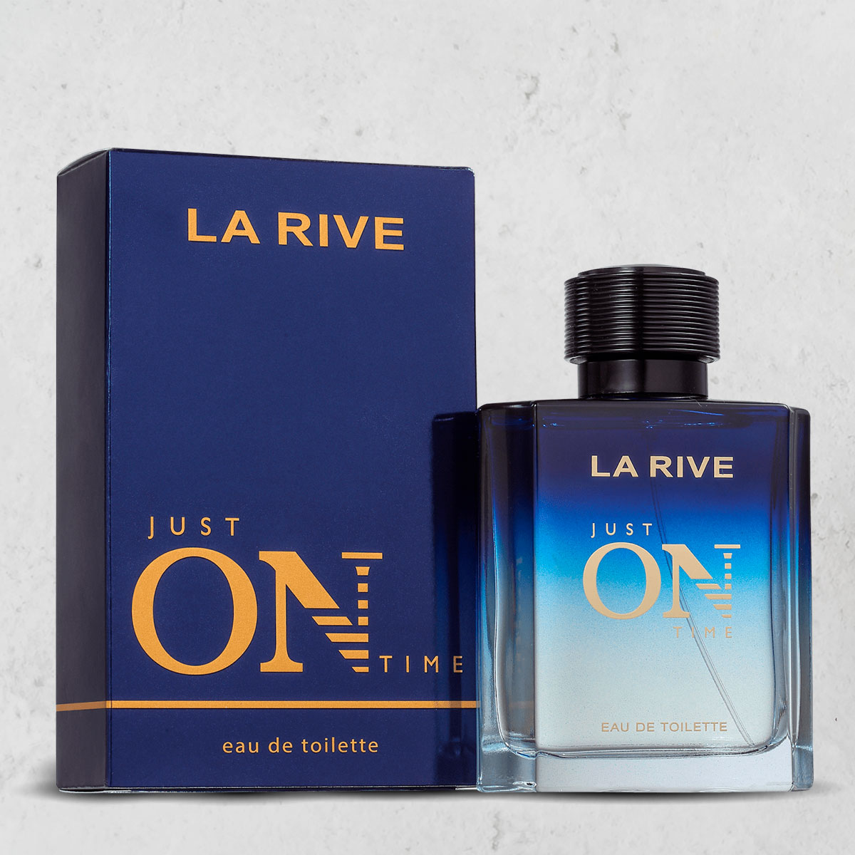 Perfume Just On Time Masculino EDT  100ml  La Rive