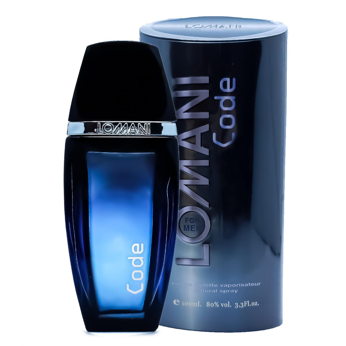 Perfume Lomani Code Masculino Edt 100ml
