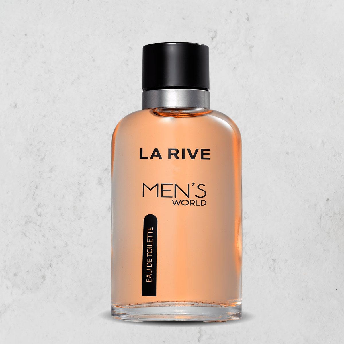Perfume Mens World Masculino Edt 90 Ml La Rive