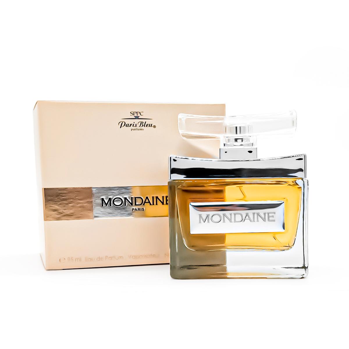 Perfume Mondaine Feminino Edp 95ml Paris Bleu  - Mercari Perfumes