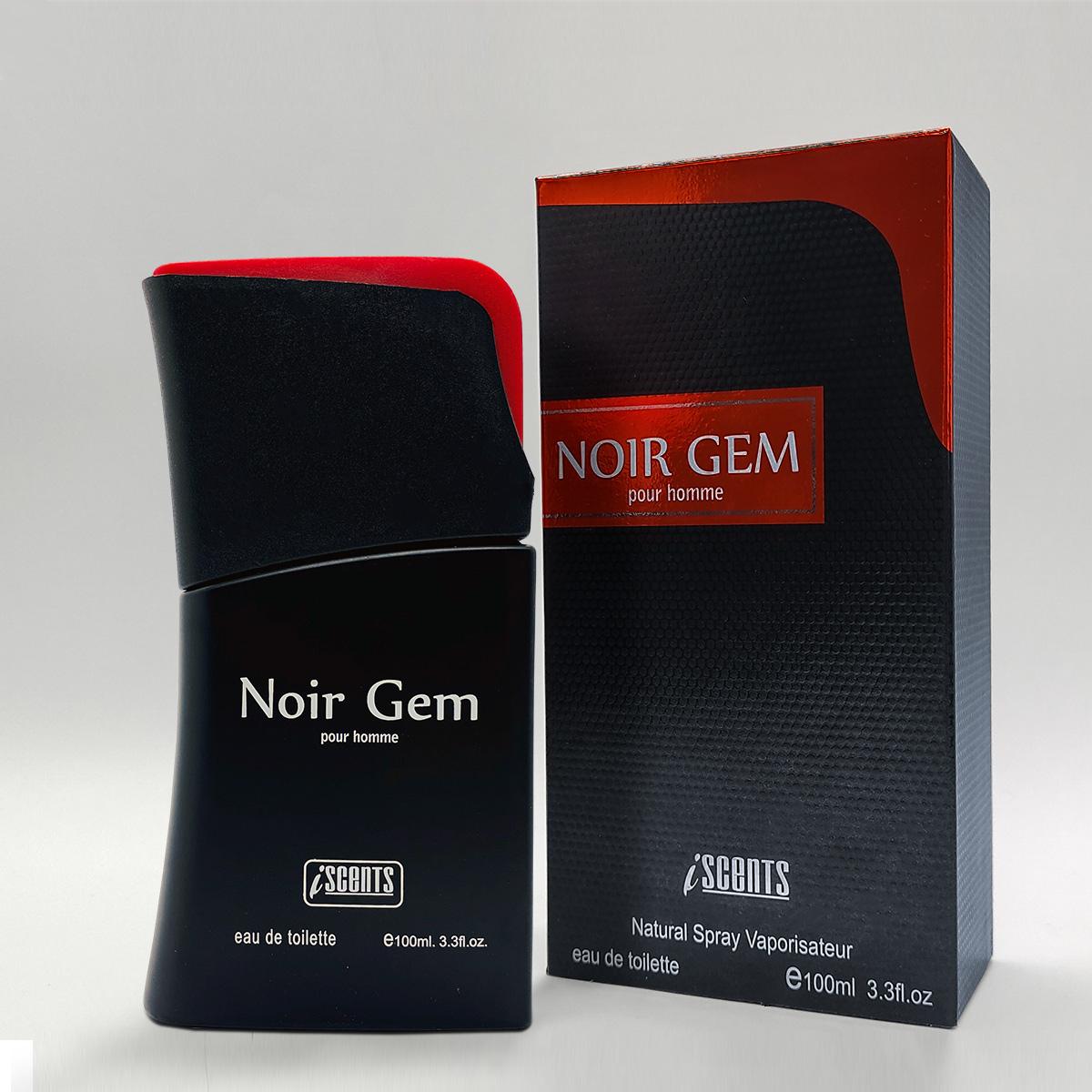 Perfume Noir Gem Masculino edt 100ml - I Scents