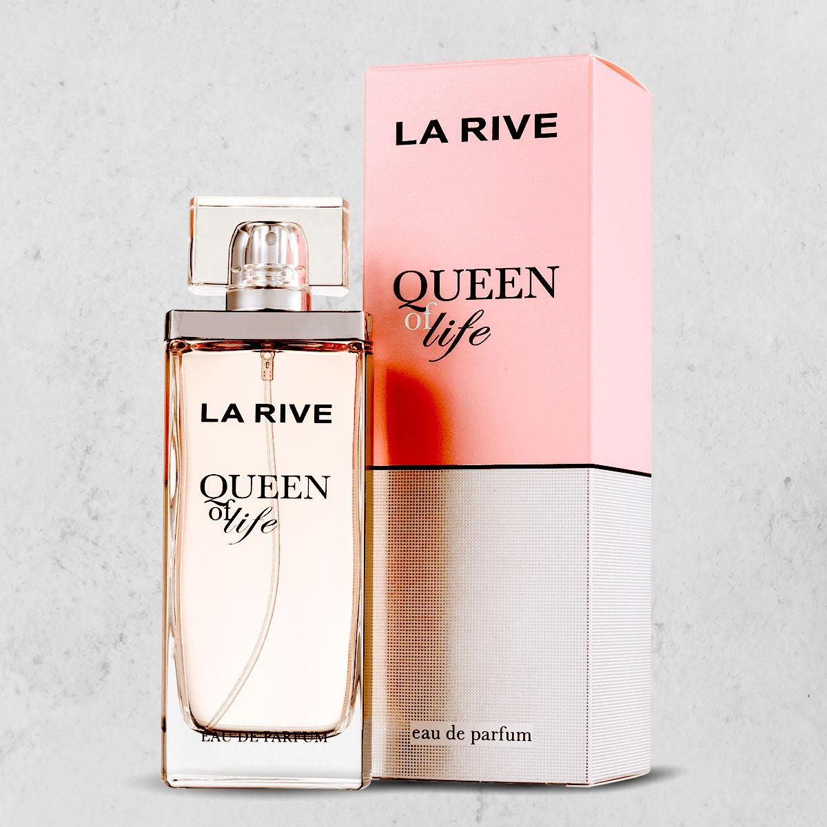 Perfume Queen Of Life Feminino Edp 75ml  La Rive