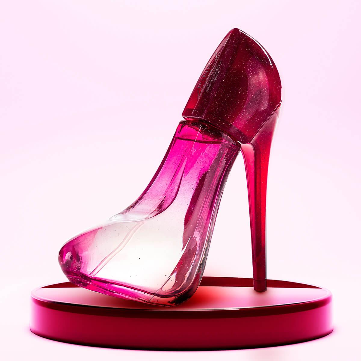 Perfume Sapatinho Pink Diamond Feminino 100ml EDP Giverny