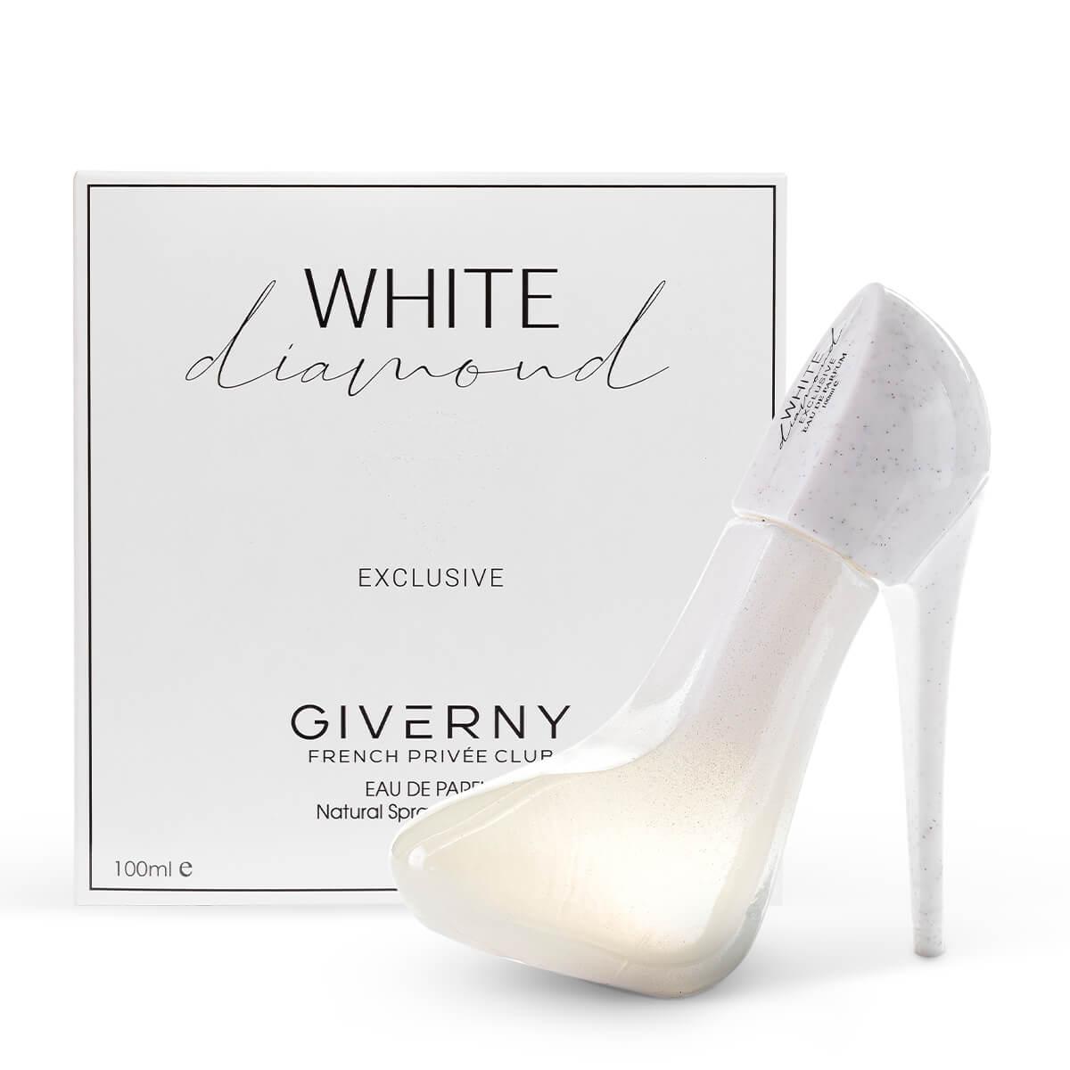 Perfume Sapatinho White Diamond Feminino EDP 100ml Giverny  - Mercari Perfumes