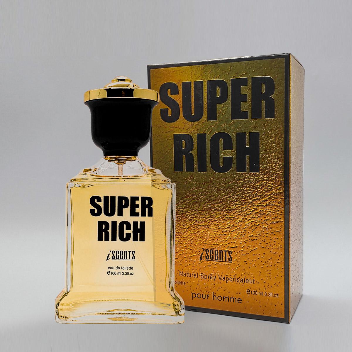 Perfume Super Rich Masculino Edt 100ml - I Scents