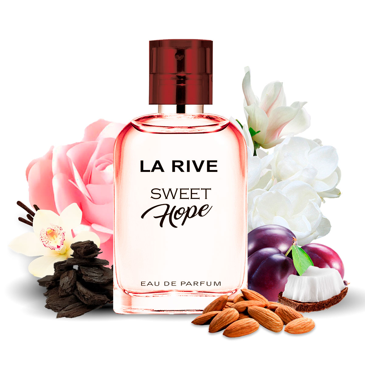 Perfume Sweet Hope Feminino Edt 30ml  La Rive