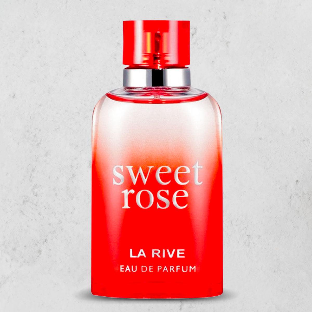 Perfume Sweet Rose Feminino EDP 90ml La Rive